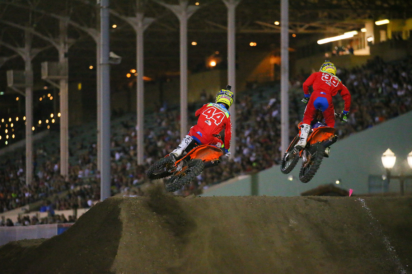Jordon Smith and Shane McElrath - Photo Blast: Red Bull Straight Rhythm - Motocross Pictures - Vital MX