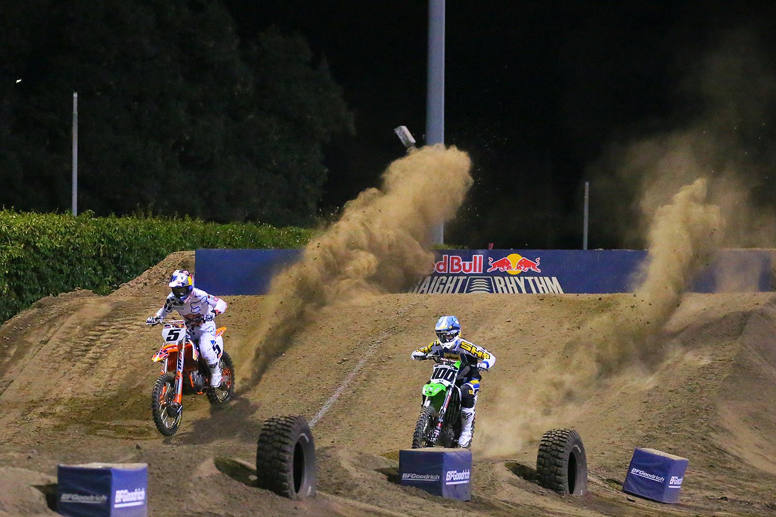 Ryan Dungey and Josh Hansen - Photo Blast: Red Bull Straight Rhythm - Motocross Pictures - Vital MX