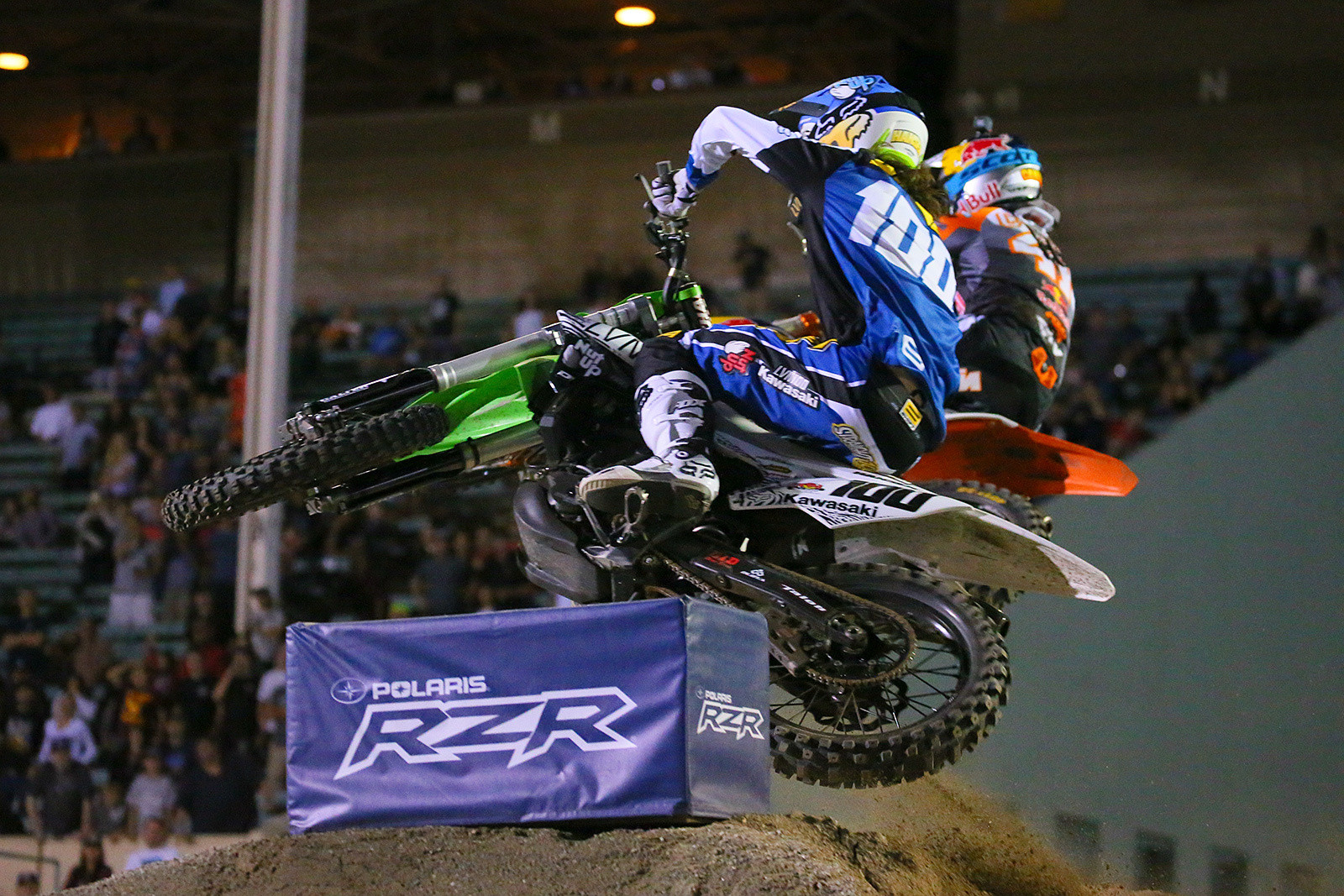 Josh Hansen and Trey Canard - Photo Blast: Red Bull Straight Rhythm - Motocross Pictures - Vital MX