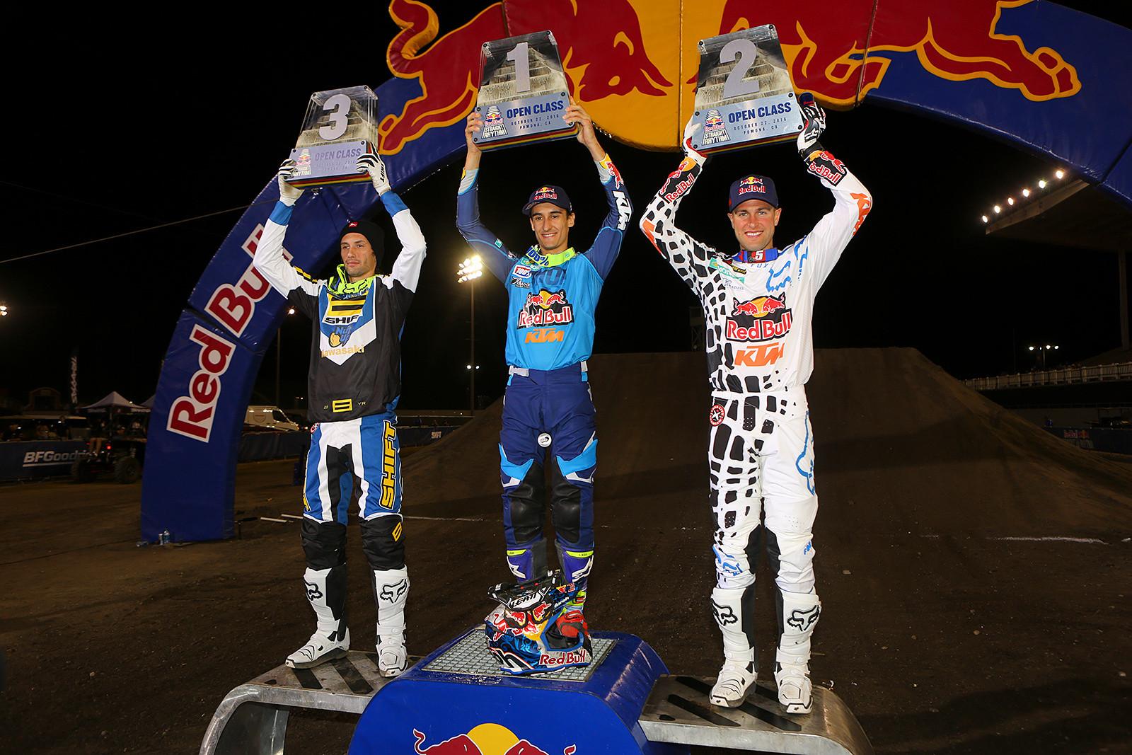 Marvin Musquin (1st), Ryan Dungey (2nd), and Josh Hansen (3rd) - Photo Blast: Red Bull Straight Rhythm - Motocross Pictures - Vital MX