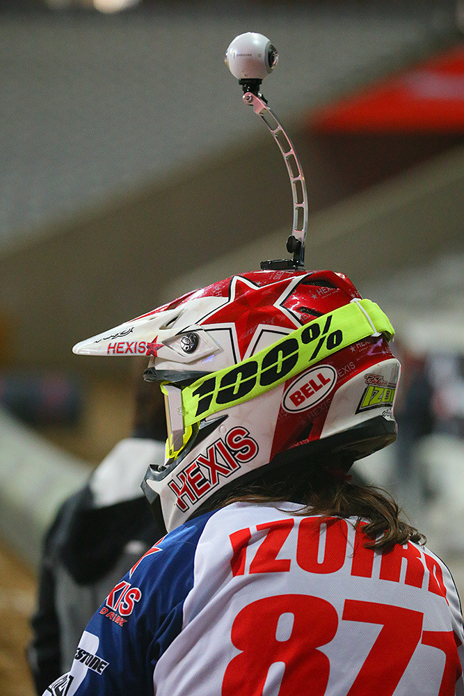 Fabien Izoird - Photo Gallery: Saturday at the Paris-Lille Supercross - Motocross Pictures - Vital MX
