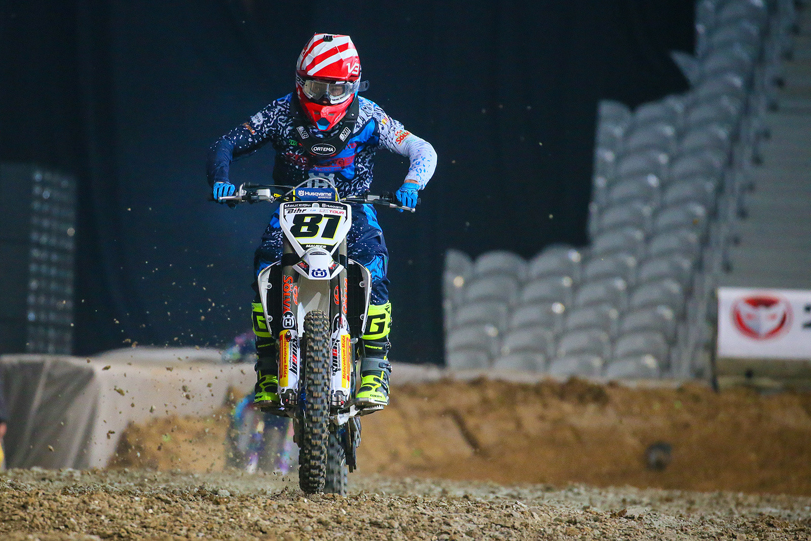 Brian Hsu - Photo Gallery: Saturday at the Paris-Lille Supercross - Motocross Pictures - Vital MX