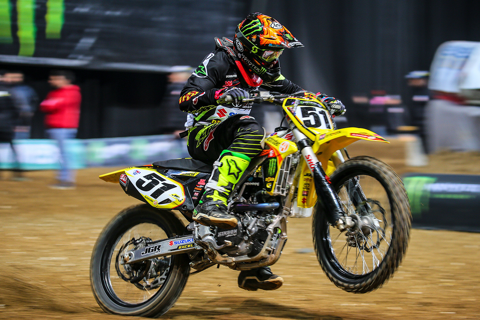 Justin Barcia - Photo Gallery: Saturday at the Paris-Lille Supercross - Motocross Pictures - Vital MX