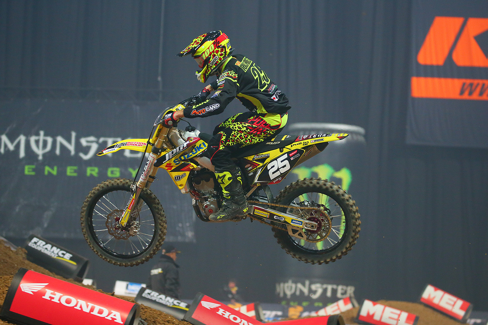 Florent Richier - Photo Gallery: Saturday at the Paris-Lille Supercross - Motocross Pictures - Vital MX