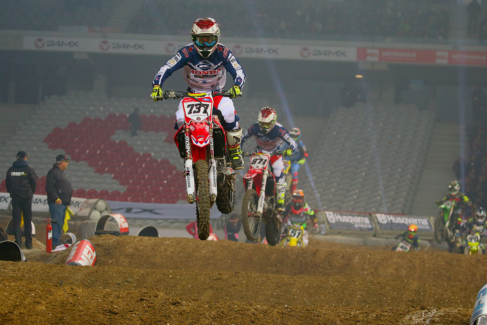 Valentin Teillet - Photo Gallery: Saturday at the Paris-Lille Supercross - Motocross Pictures - Vital MX