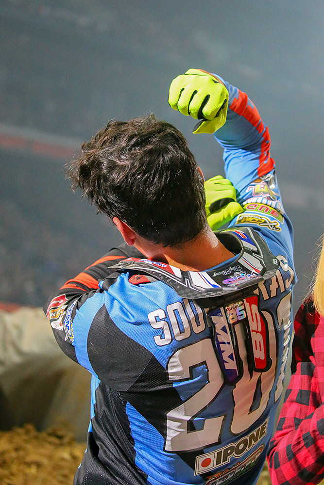 Cedric Soubeyras - Photo Gallery: Saturday at the Paris-Lille Supercross - Motocross Pictures - Vital MX