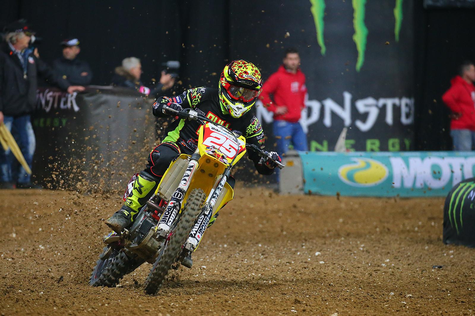 Florent Richier - Photo Gallery: Saturday at the Paris-Lille Supercross - Motocross Pictures - Vital MX
