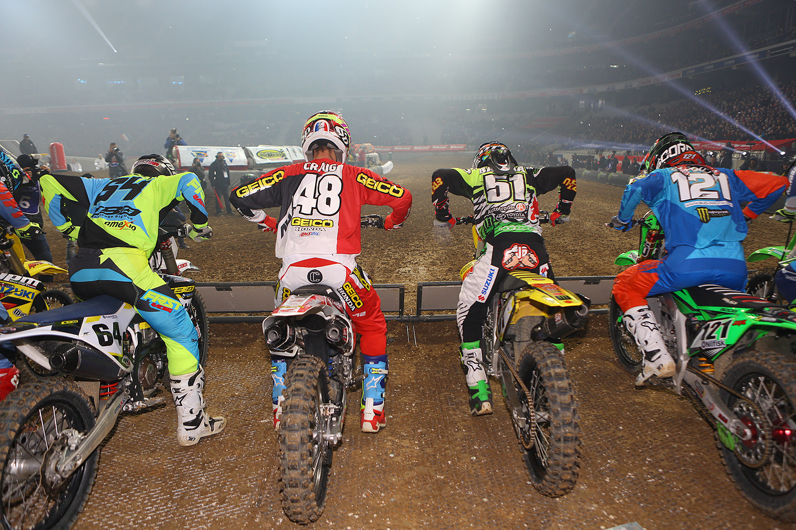 450 Heat Race One - Photo Gallery: Paris-Lille Supercross, Day 2 - Motocross Pictures - Vital MX