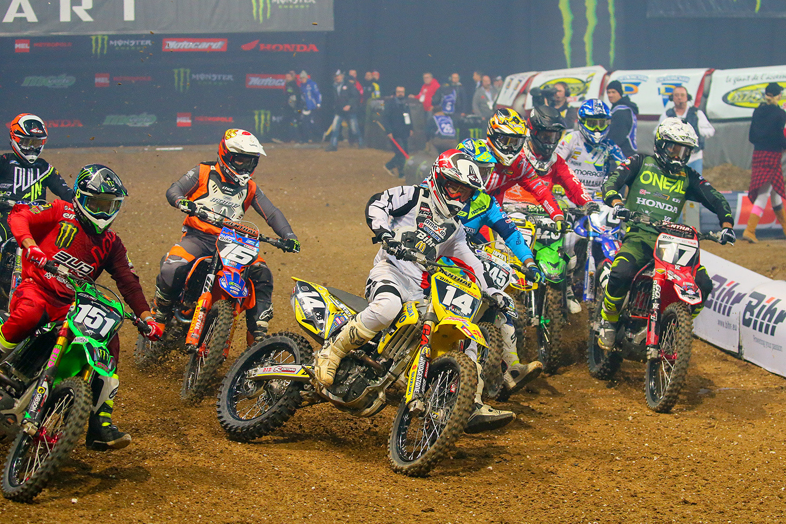 250 Heat Race Two - Photo Gallery: Paris-Lille Supercross, Day 2 - Motocross Pictures - Vital MX