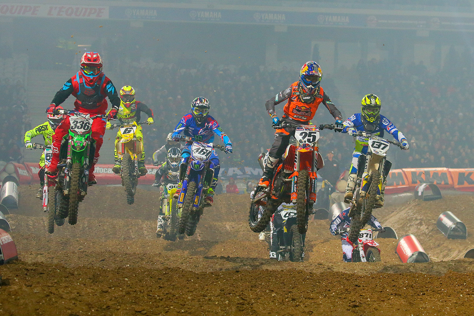 450 Heat Race Two - Photo Gallery: Paris-Lille Supercross, Day 2 - Motocross Pictures - Vital MX