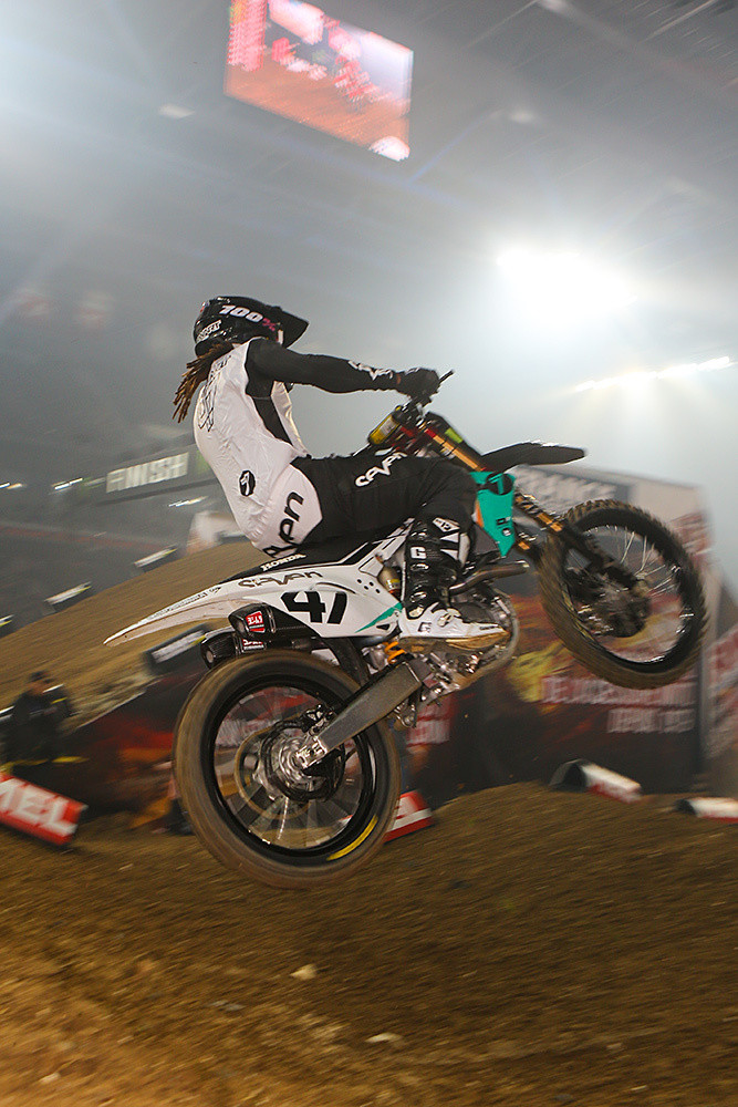 Malcolm Stewart - Photo Gallery: Paris-Lille Supercross, Day 2 - Motocross Pictures - Vital MX