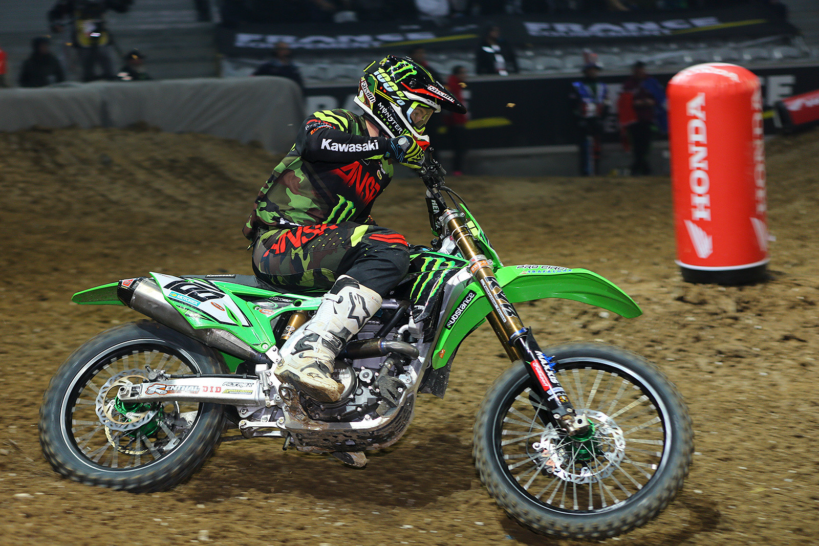 Tommy Searle - Photo Gallery: Paris-Lille Supercross, Day 2 - Motocross Pictures - Vital MX