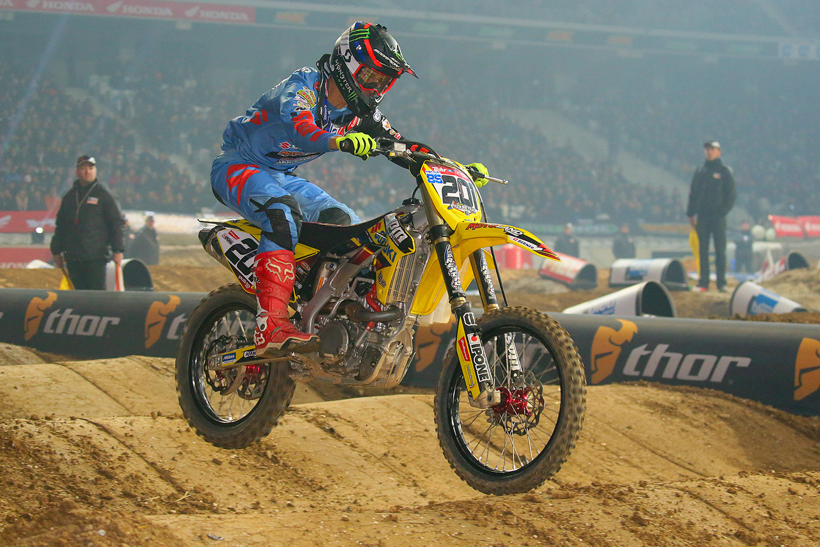 Cedric Soubeyras - Photo Gallery: Paris-Lille Supercross, Day 2 - Motocross Pictures - Vital MX