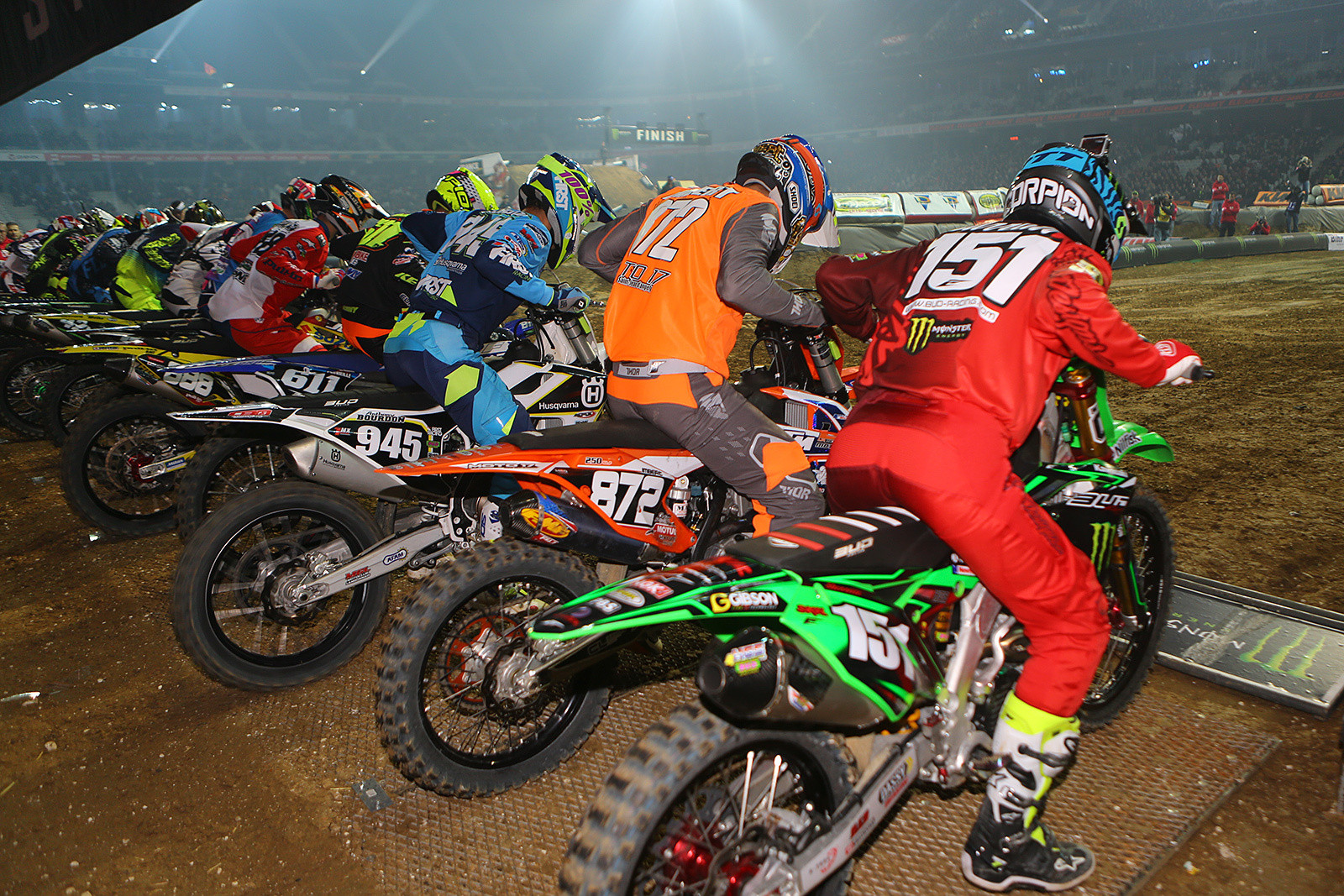 250 Main Event - Photo Gallery: Paris-Lille Supercross, Day 2 - Motocross Pictures - Vital MX
