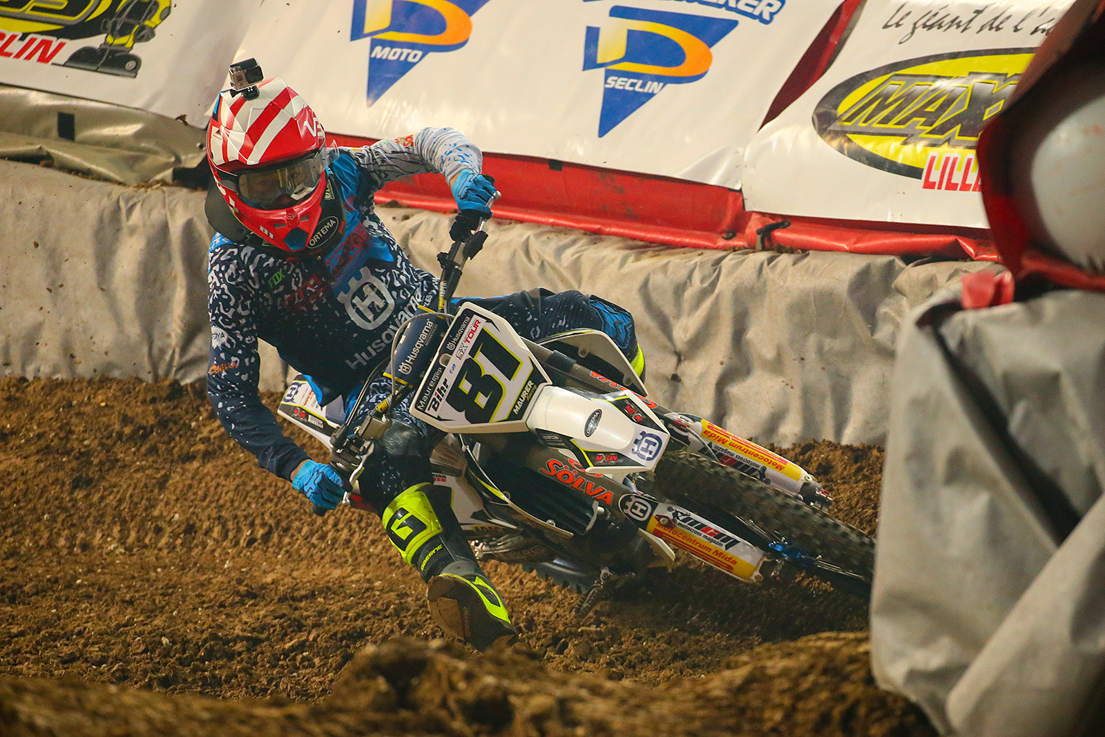 Brian Hsu - Photo Gallery: Paris-Lille Supercross, Day 2 - Motocross Pictures - Vital MX