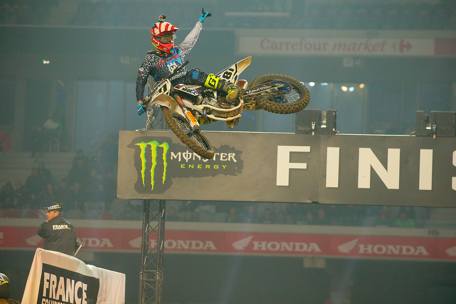 Brian Hsu - Photo Gallery: Paris-Lille Supercross, Day 2 - Motocross Pictures - Vital MX