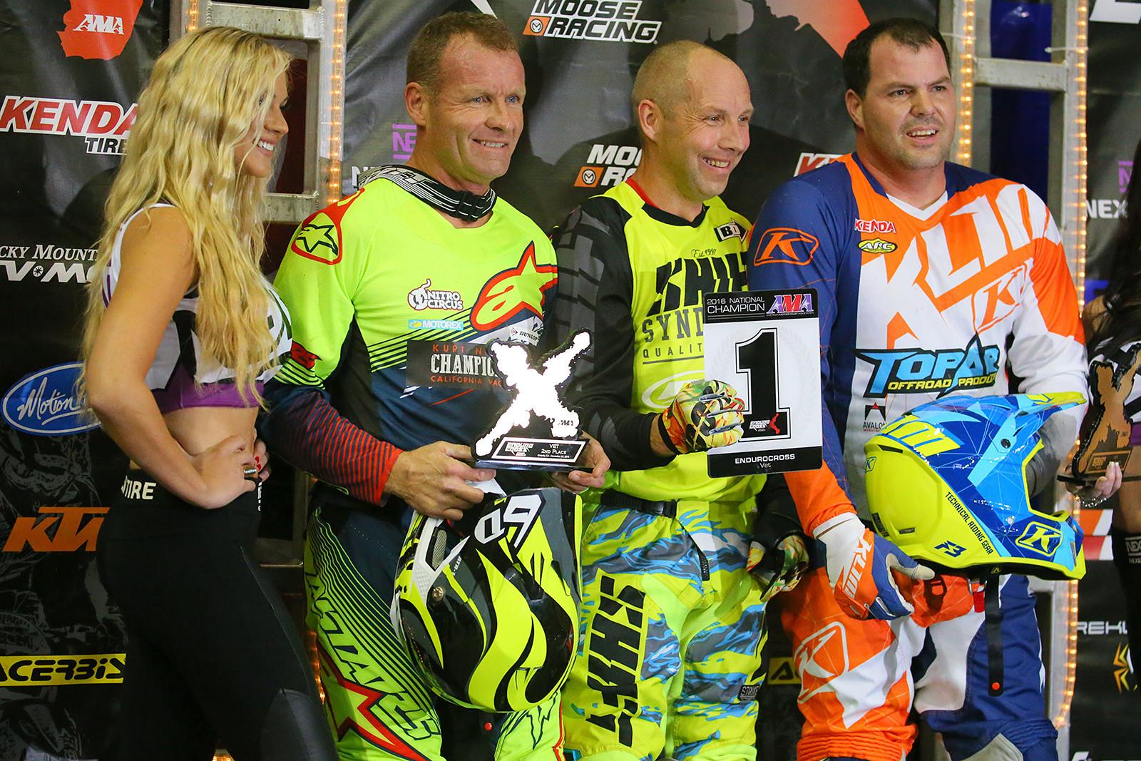 Vet podium - Endurocross Finals - Motocross Pictures - Vital MX