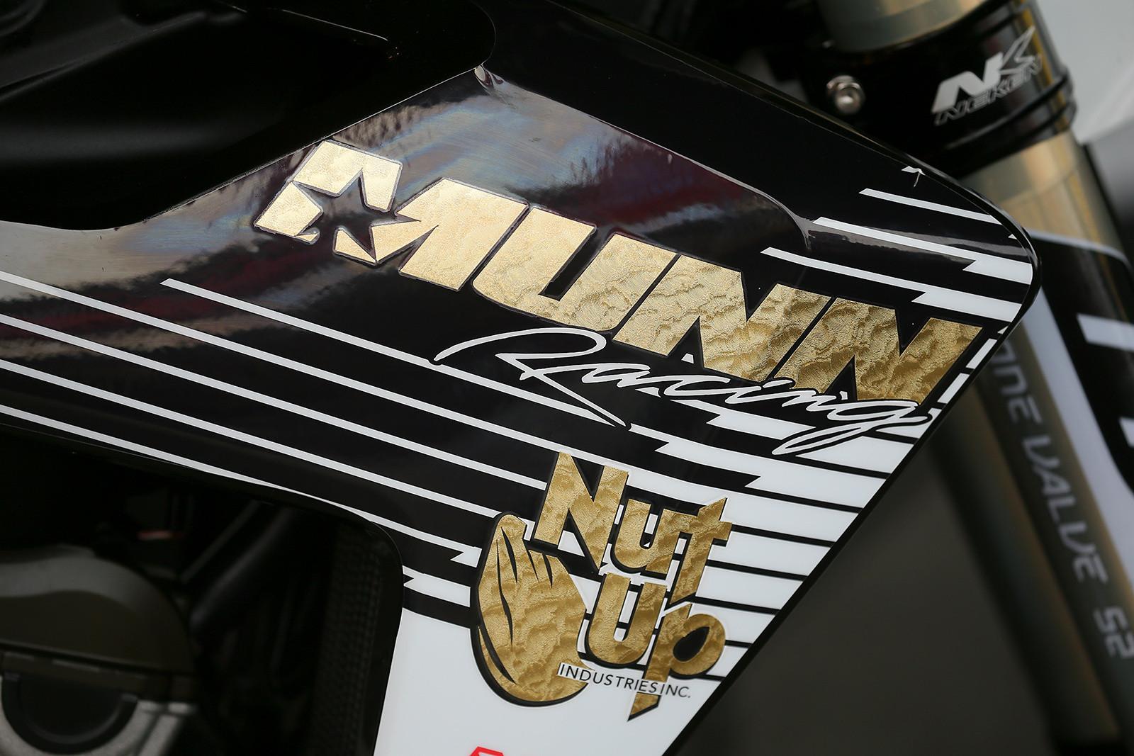 Josh Hansen, Munn, and NutUp - Vital MX Pit Bits: Anaheim 1 - Motocross Pictures - Vital MX