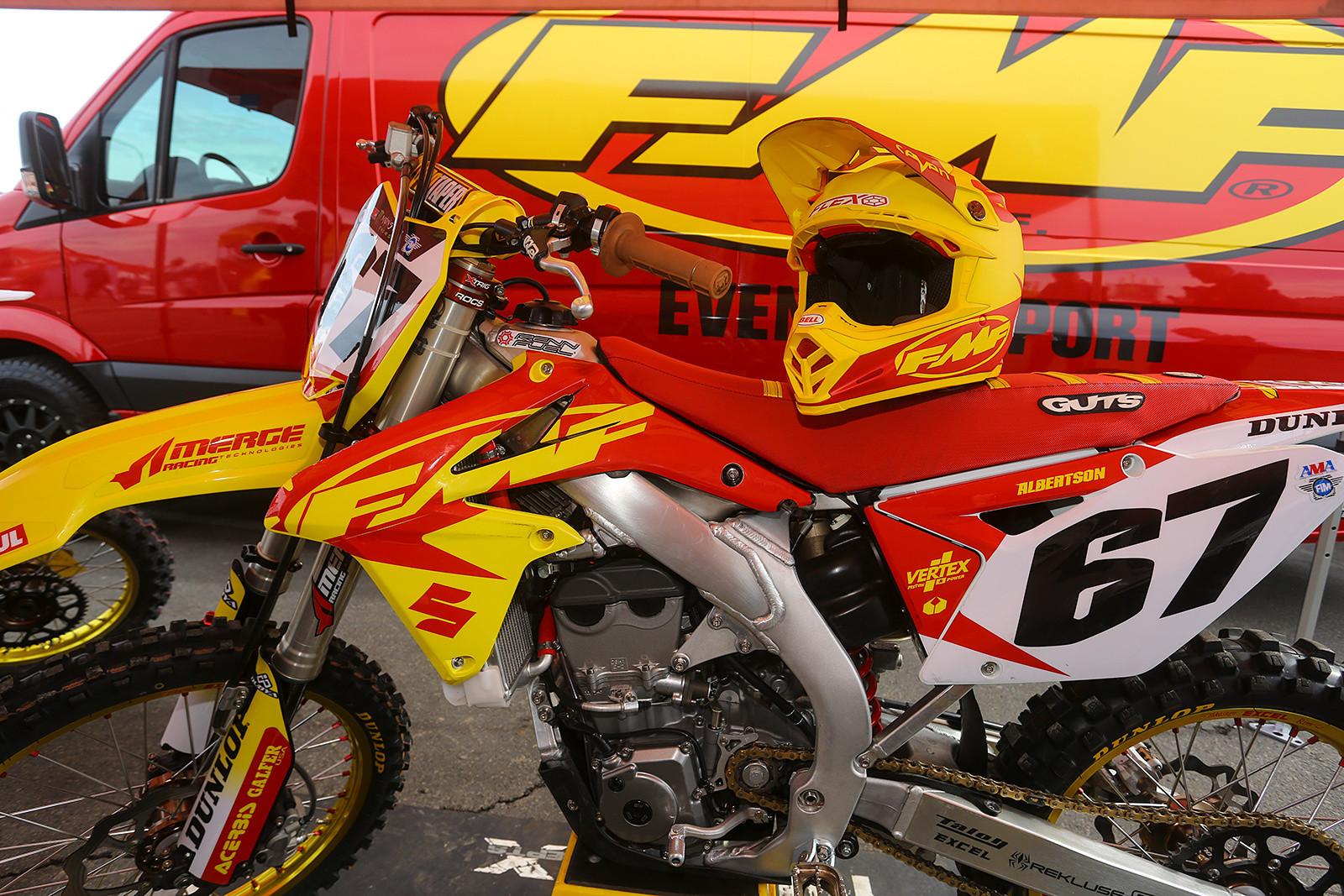Jimmy Albertson - Vital MX Pit Bits: Anaheim 1 - Motocross Pictures - Vital MX