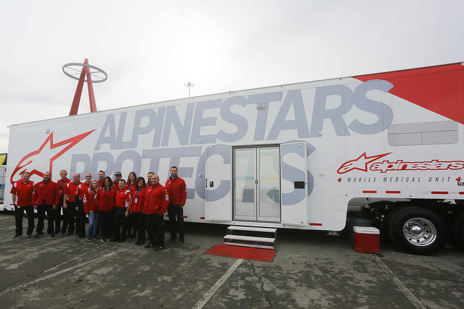 Alpinestars Mobile Medical Unit - Vital MX Pit Bits: Anaheim 1 - Motocross Pictures - Vital MX