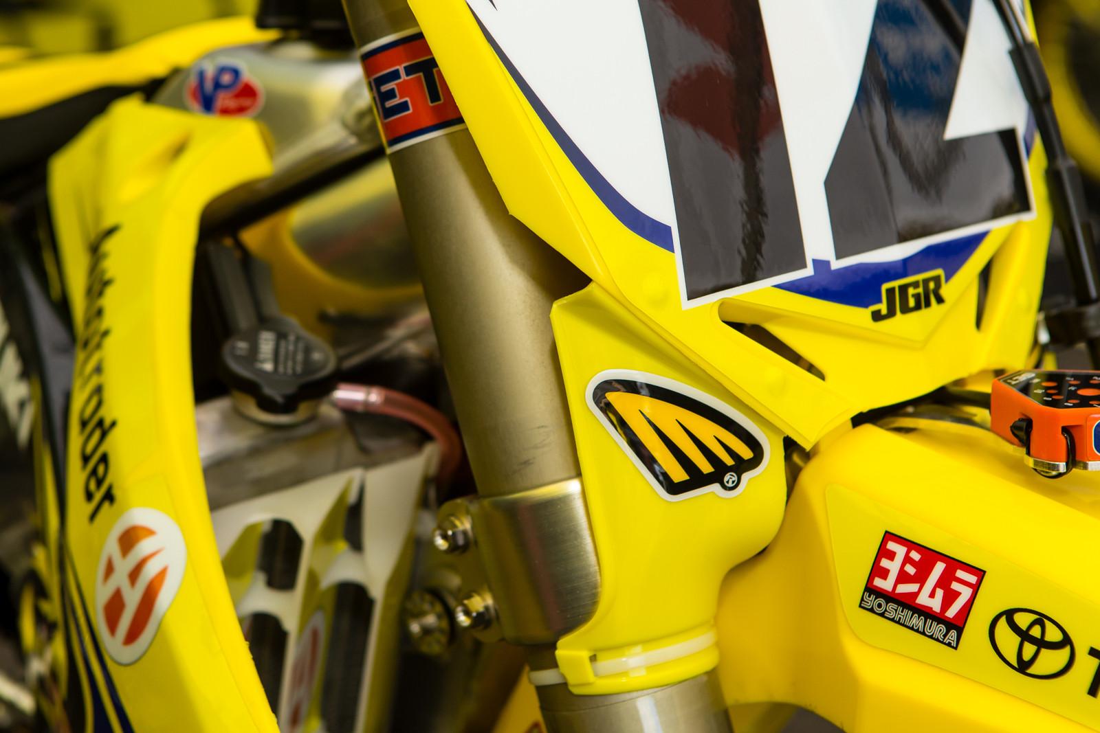 Cycra - Vital MX Pit Bits: Anaheim 1 - Motocross Pictures - Vital MX