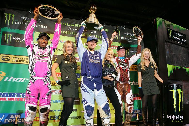 Supercross podium