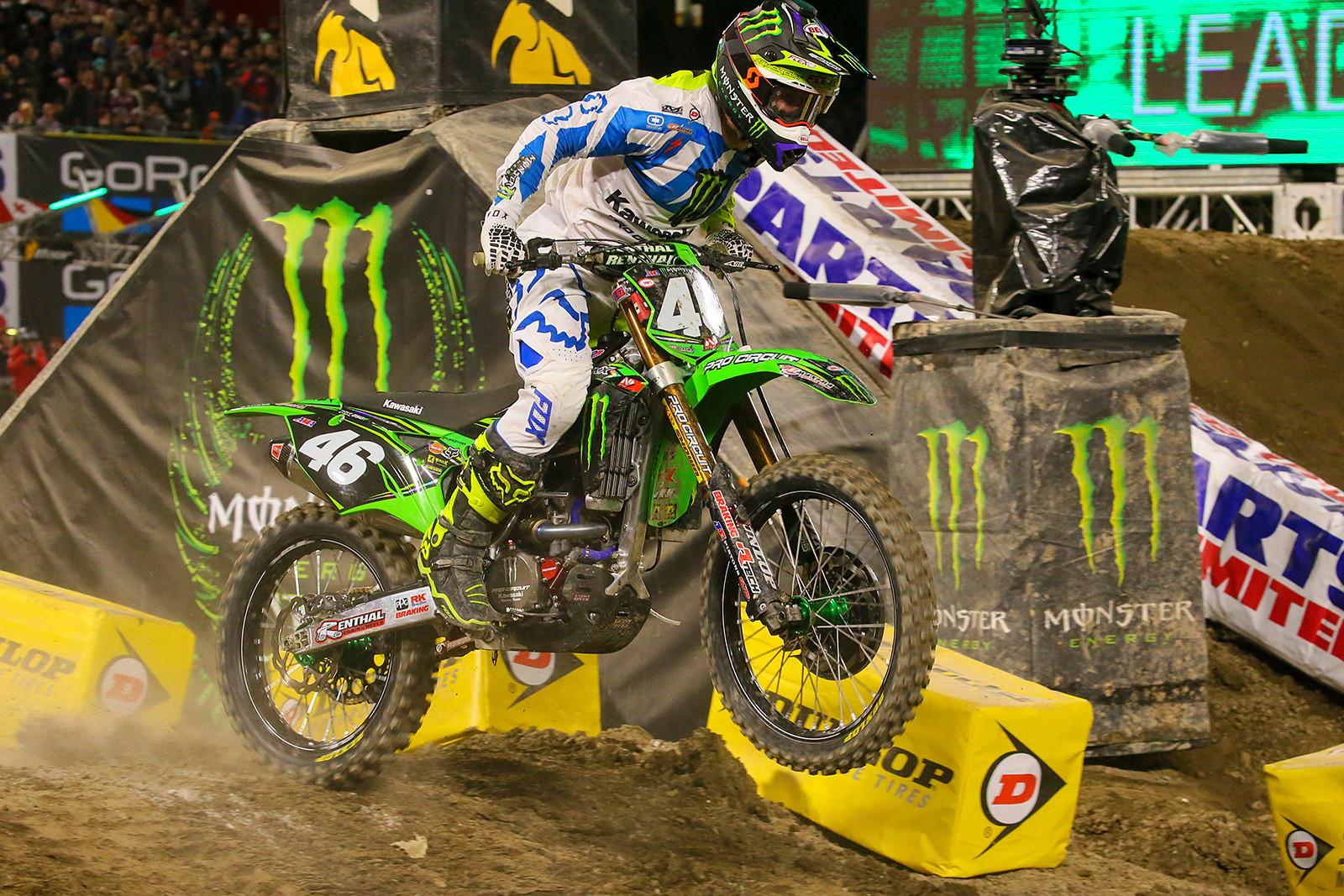 Justin Hill - Photo Blast: Anaheim 1 - Motocross Pictures - Vital MX