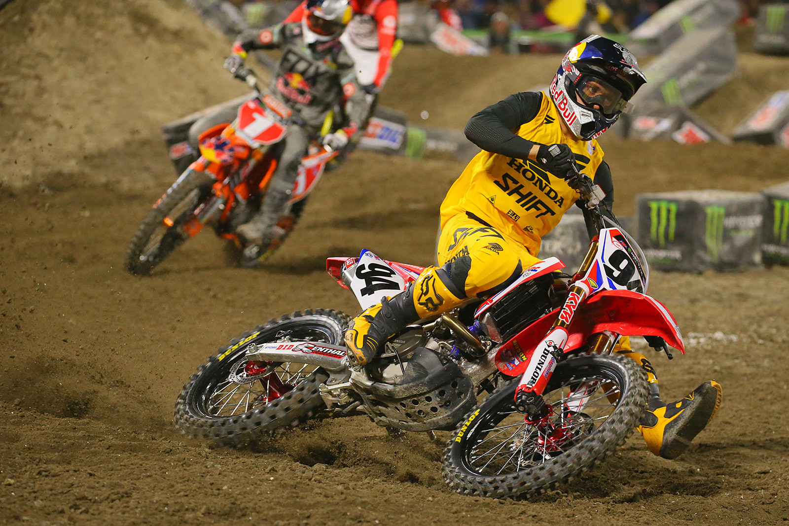 Ken Roczen - Photo Blast: Anaheim 1 - Motocross Pictures - Vital MX