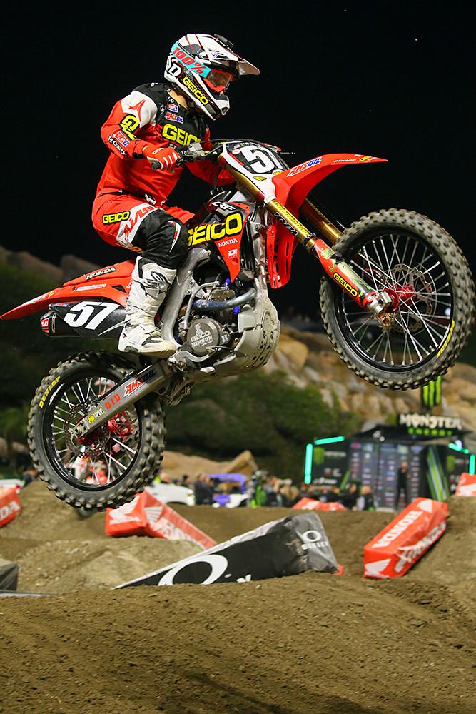 Jimmy DeCotis - Photo Blast: Anaheim 1 - Motocross Pictures - Vital MX
