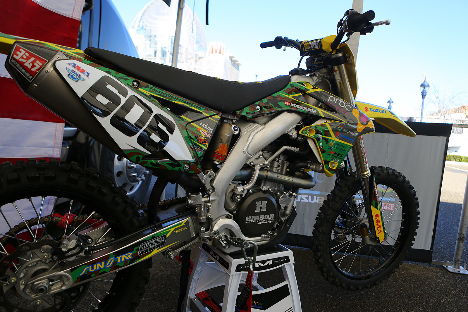 Ronnie Stewart - Vital MX Pit Bits: San Diego - Motocross Pictures - Vital MX