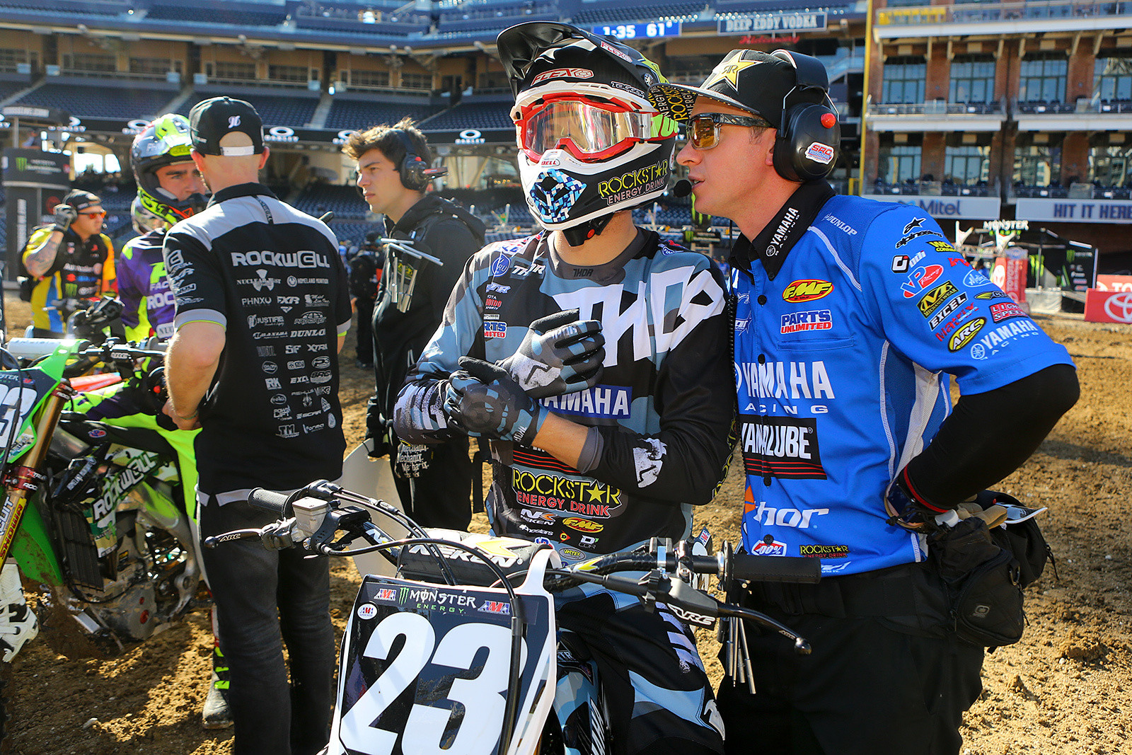 Aaron Plessinger and Billy Hartle - Vital MX Pit Bits: San Diego - Motocross Pictures - Vital MX