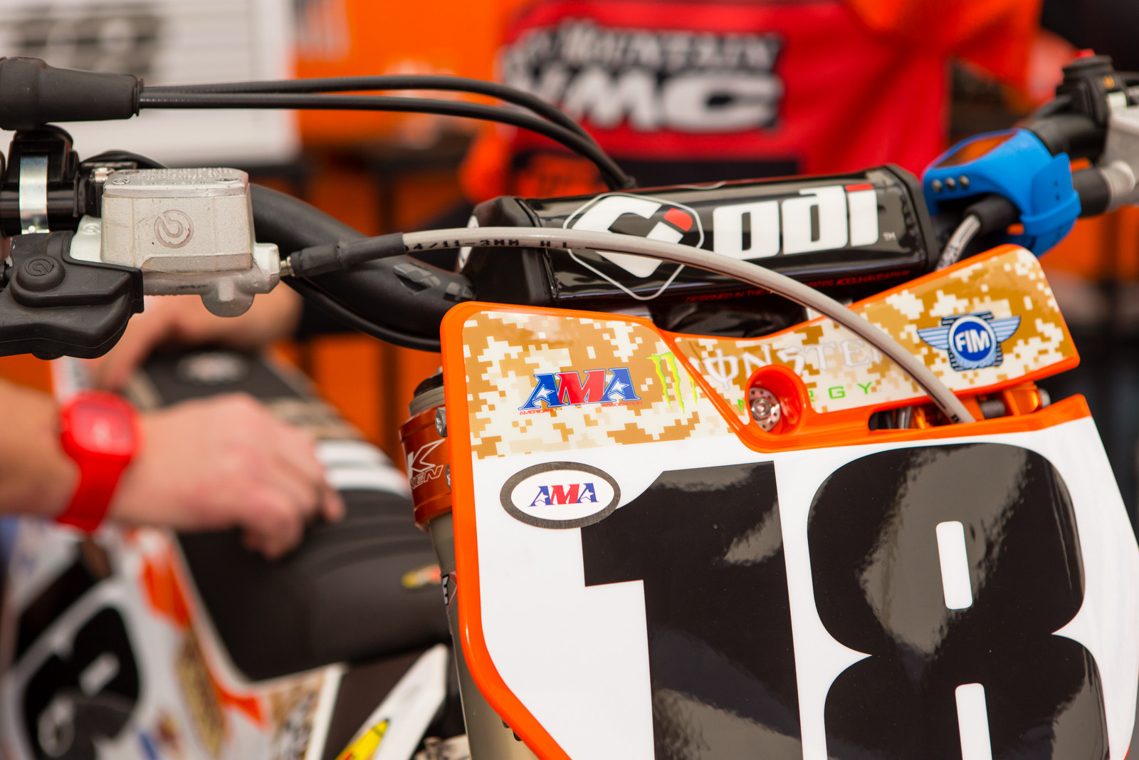 Full On Camo - Vital MX Pit Bits: San Diego - Motocross Pictures - Vital MX