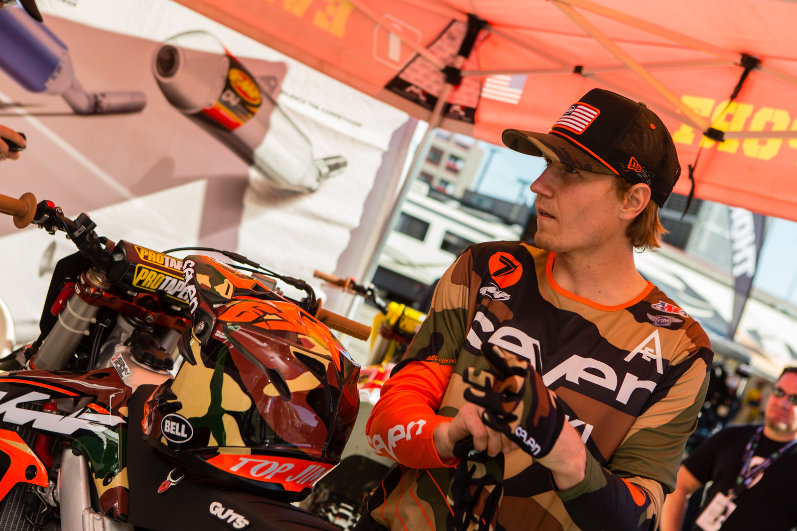 Jimmy Albertson - Vital MX Pit Bits: San Diego - Motocross Pictures - Vital MX