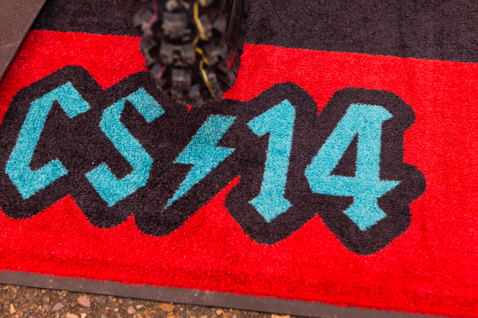 Rider's logos, Cole Seely - Vital MX Pit Bits: San Diego - Motocross Pictures - Vital MX