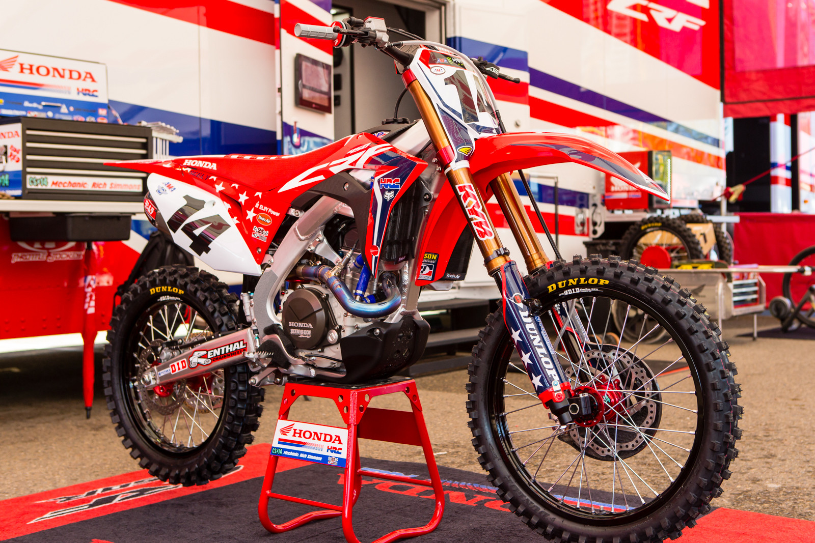 Cole Seely's Stars and Stripes - Vital MX Pit Bits: San Diego - Motocross Pictures - Vital MX