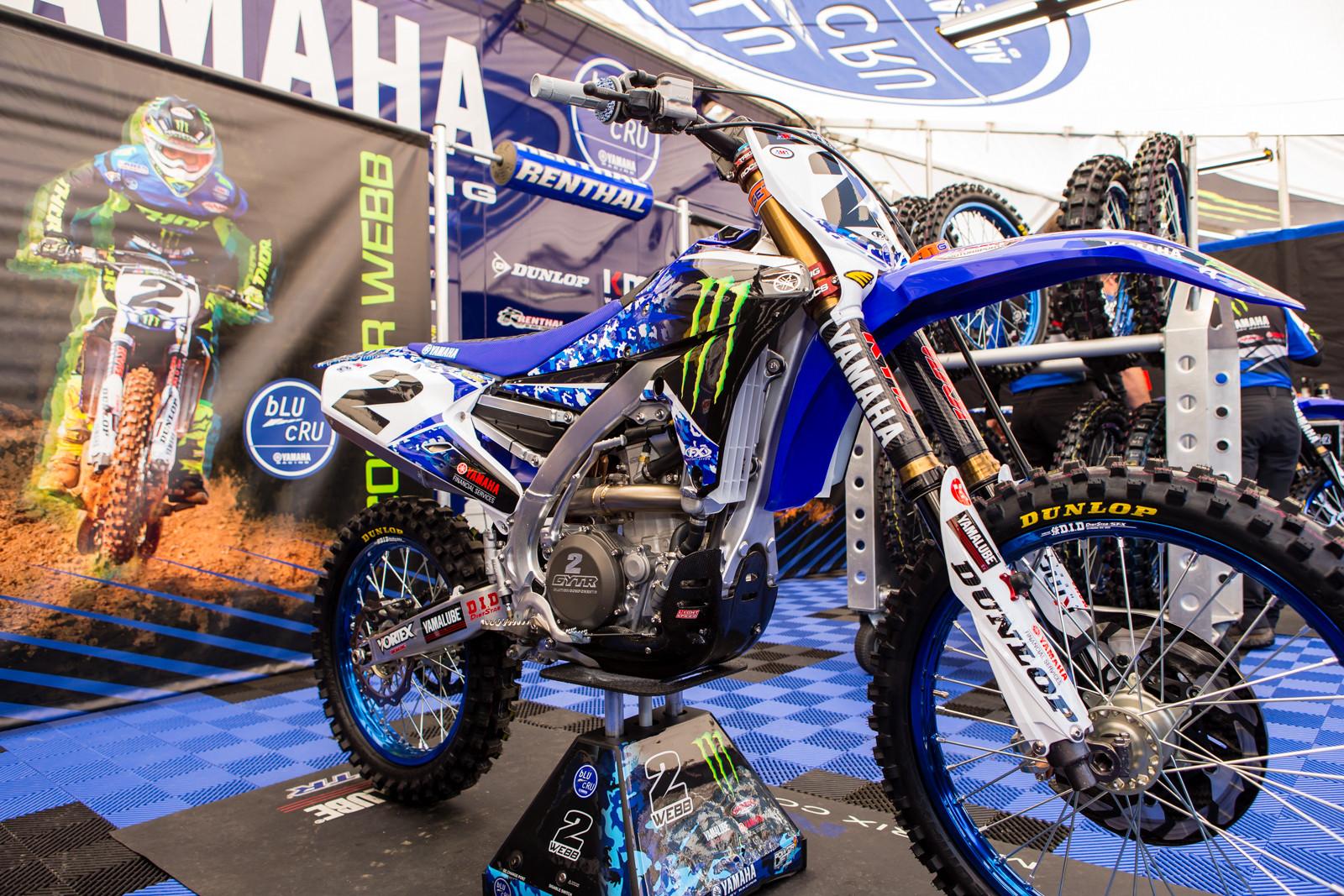 Cooper Webb's Monster Energy Factory Yamaha - Vital MX Pit Bits: San Diego - Motocross Pictures - Vital MX
