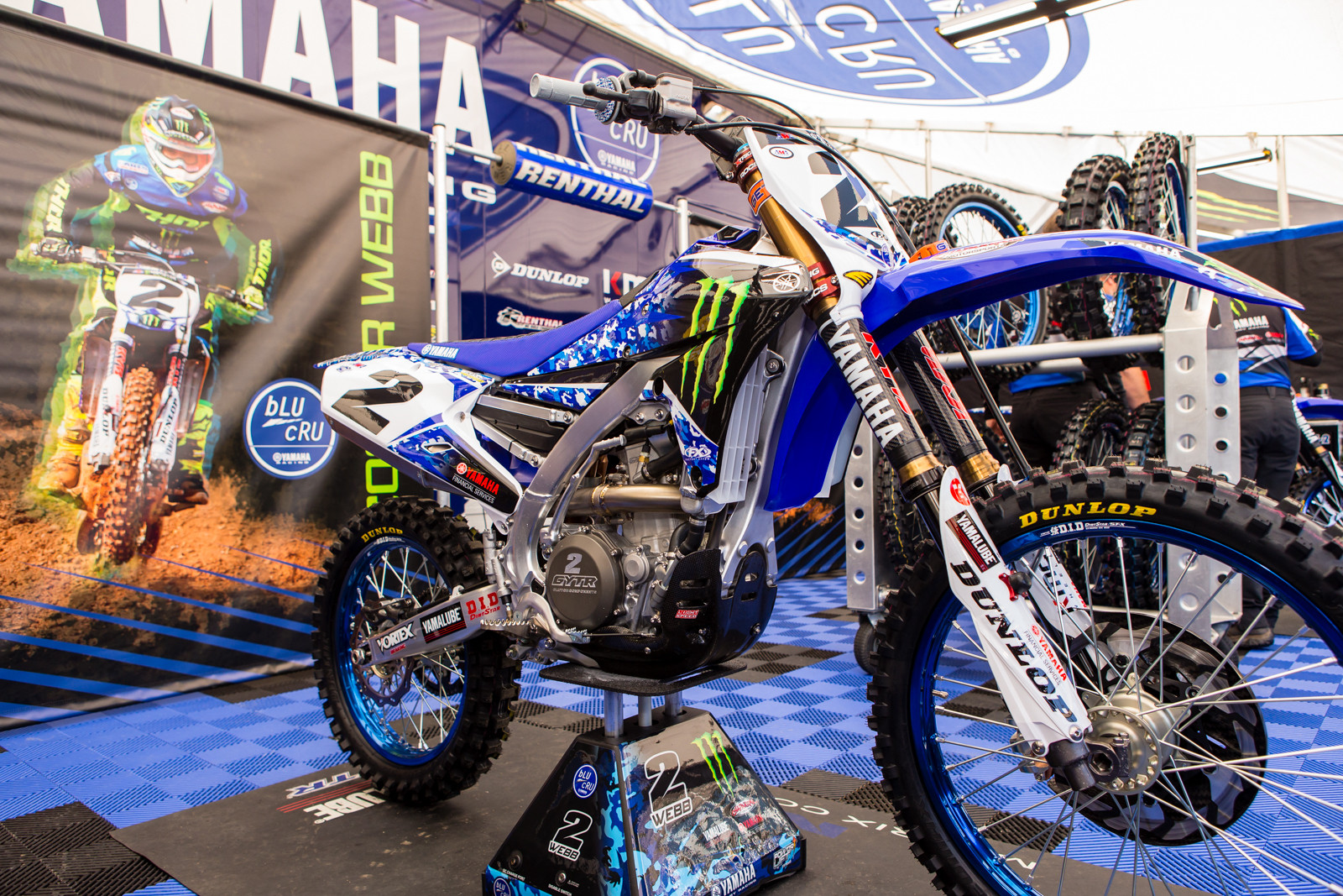 Cooper Webb's Monster Energy Factory Yamaha - Vital MX Pit Bits: San Diego - Motocross Pictures - Vital MX