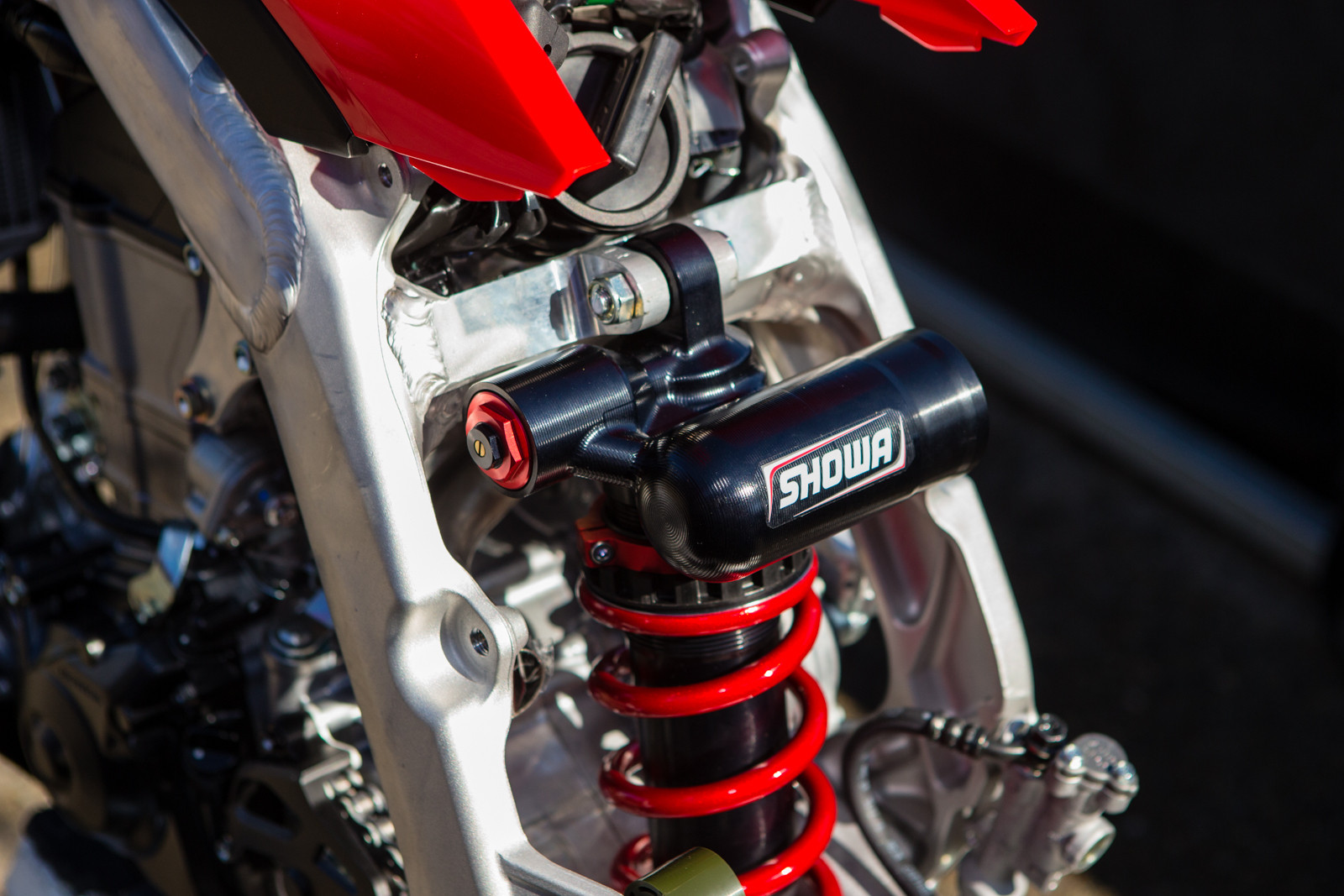 Showa Works Shock - Vital MX Pit Bits: San Diego - Motocross Pictures - Vital MX