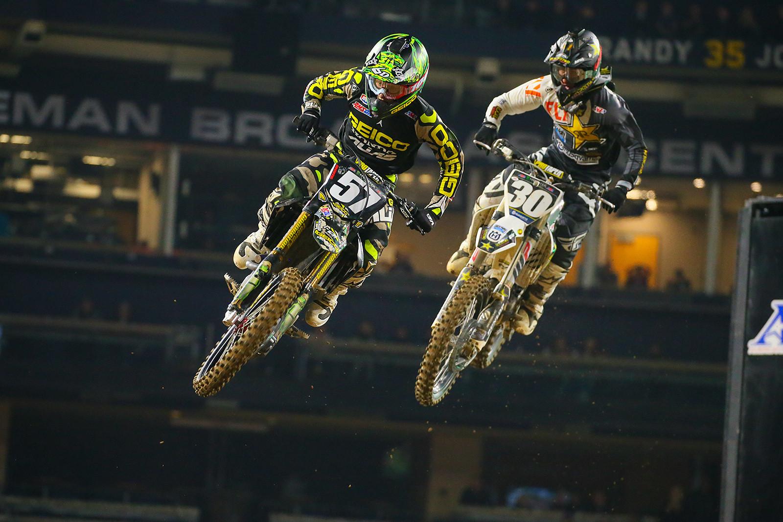Jimmy DeCotis and Martin Davalos - Photo Blast: San Diego - Motocross Pictures - Vital MX