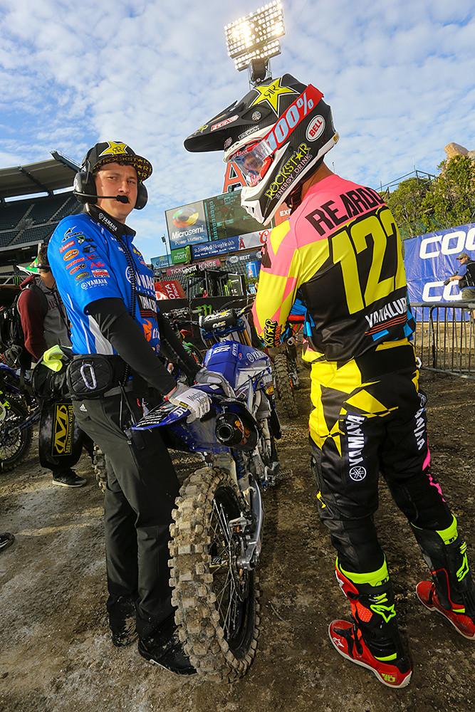 Dan Reardon - Vital MX Pit Bits: Anaheim 2 - Motocross Pictures - Vital MX