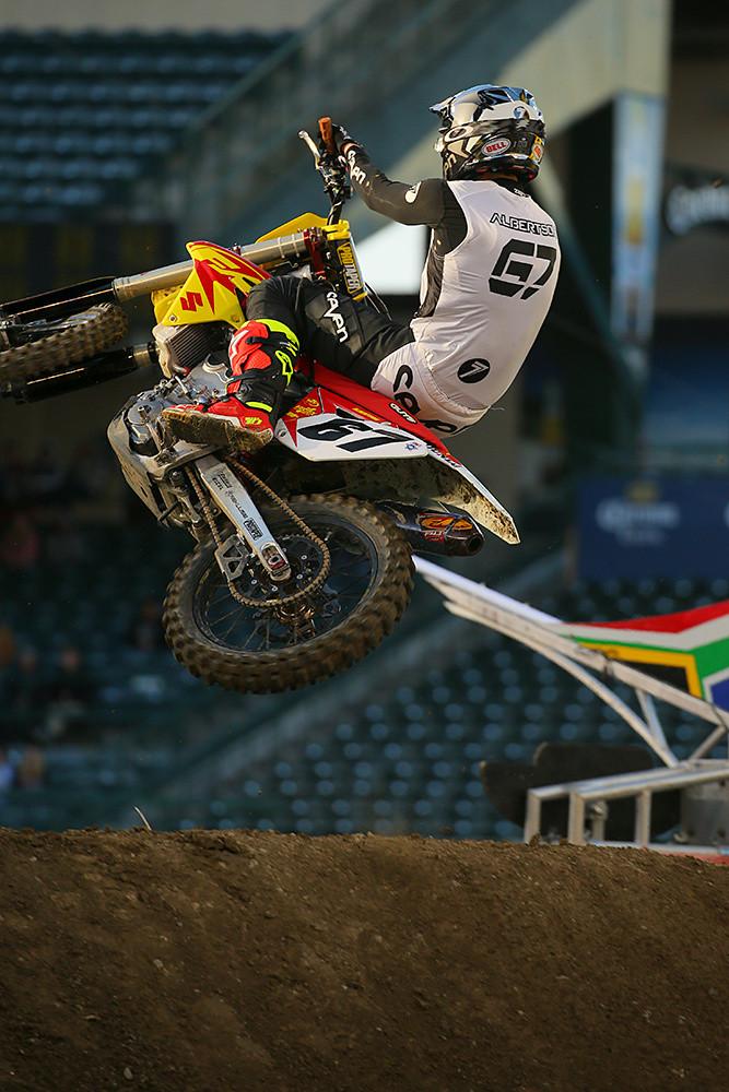 Jimmy Albertson - Vital MX Pit Bits: Anaheim 2 - Motocross Pictures - Vital MX