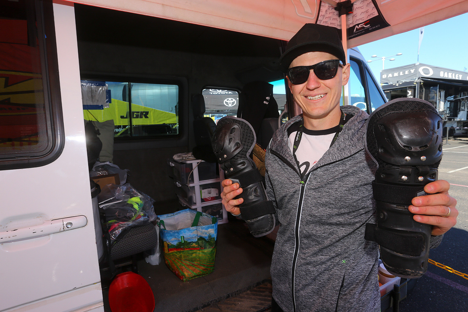 Jimmy Albertson - Vital MX Pit Bits: Glendale - Motocross Pictures - Vital MX
