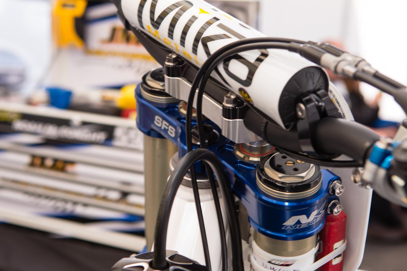 Neken SFS Triple Clamps - Vital MX Pit Bits: Glendale - Motocross Pictures - Vital MX