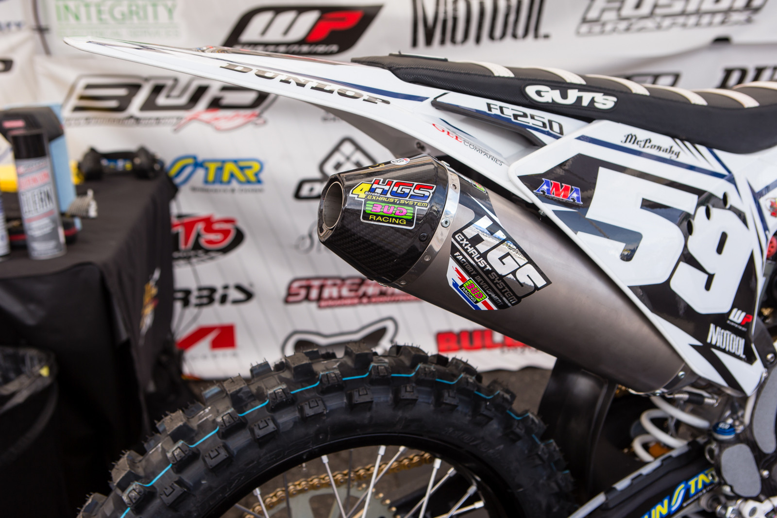 HGS Exhausts - Vital MX Pit Bits: Glendale - Motocross Pictures - Vital MX