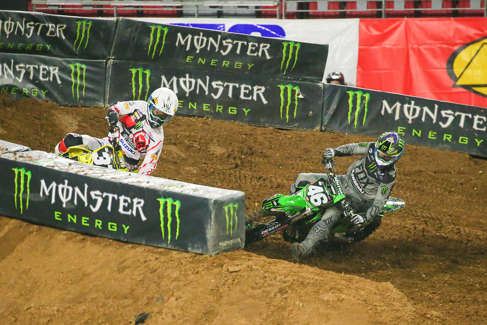 Phil Nicoletti and Justin Hill - Photo Blast: Glendale - Motocross Pictures - Vital MX