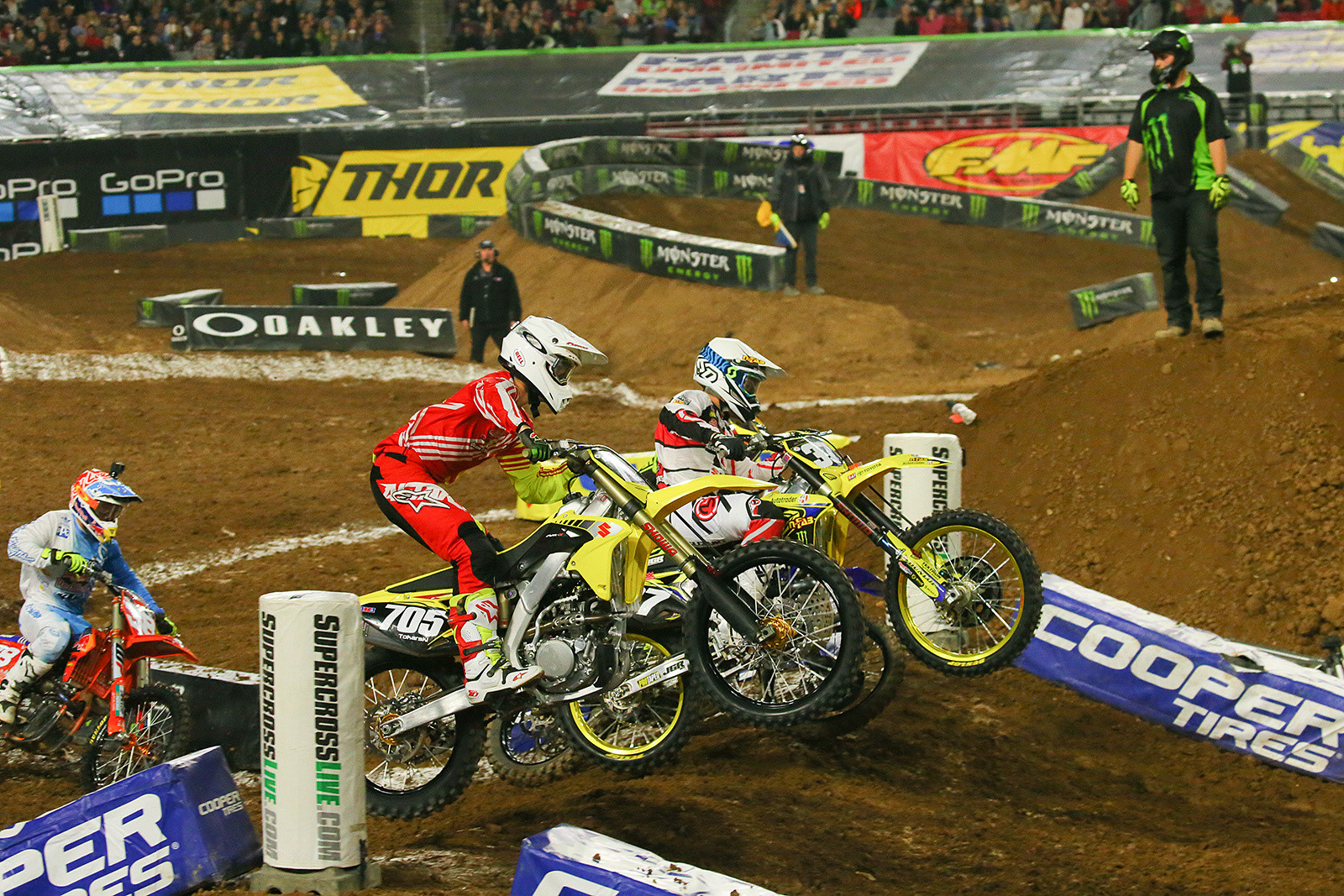 Steven Tokarski and Phil Nicoletti - Photo Blast: Glendale - Motocross Pictures - Vital MX