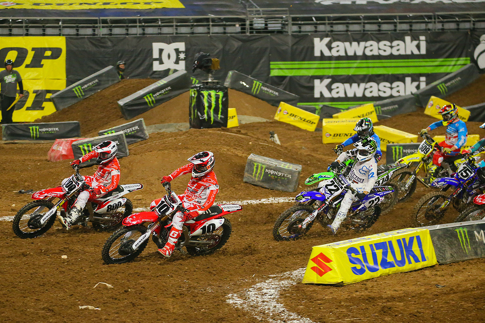 Mike Alessi, Justin Brayton, and Chad Reed - Photo Blast: Glendale - Motocross Pictures - Vital MX