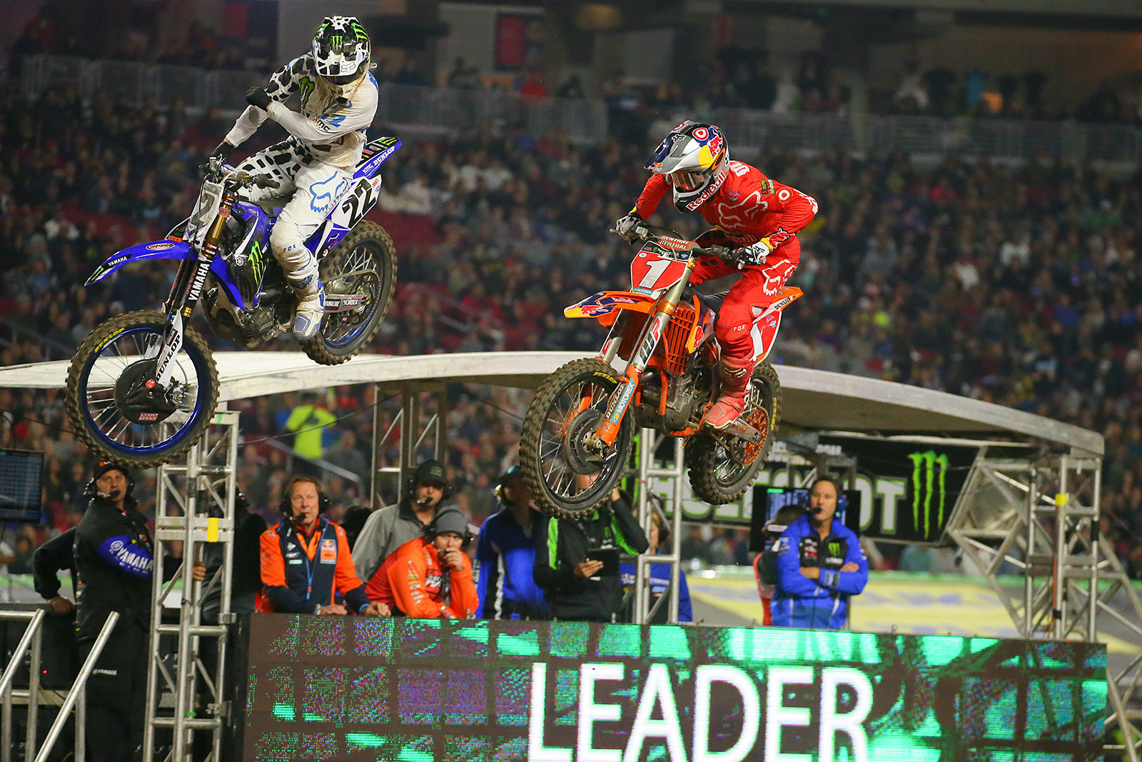 Chad Reed and Ryan Dungey - Photo Blast: Glendale - Motocross Pictures - Vital MX