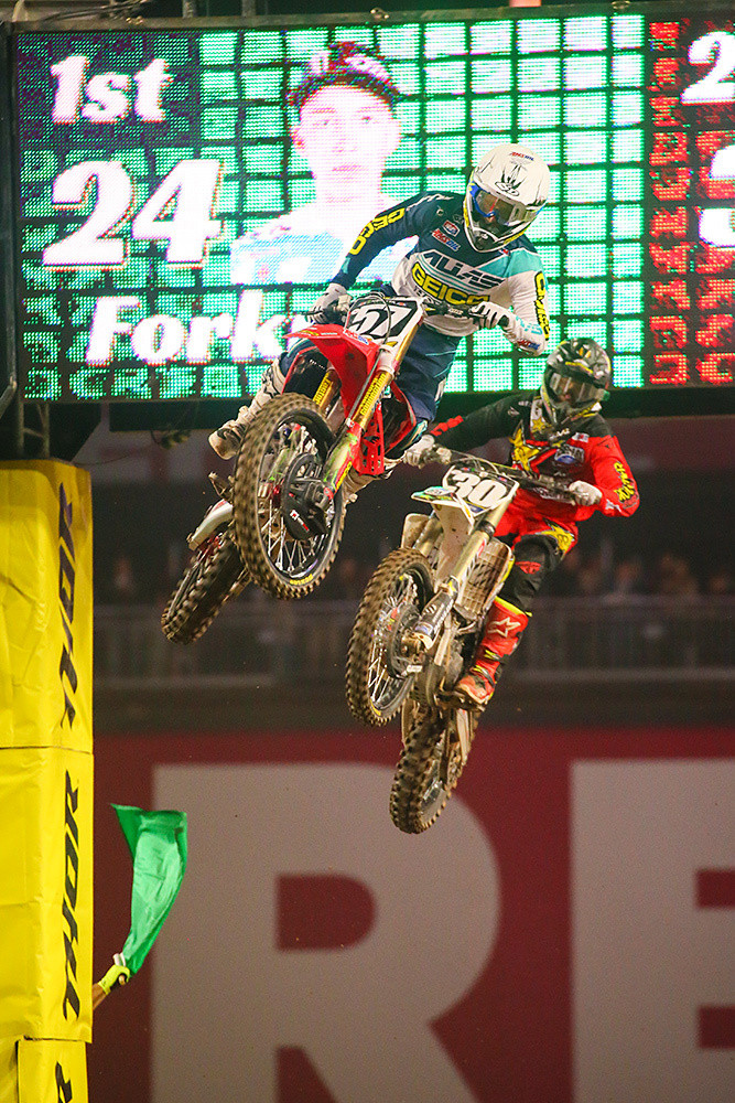 Jimmy DeCotis and Martin Davalos - Photo Blast: Glendale - Motocross Pictures - Vital MX