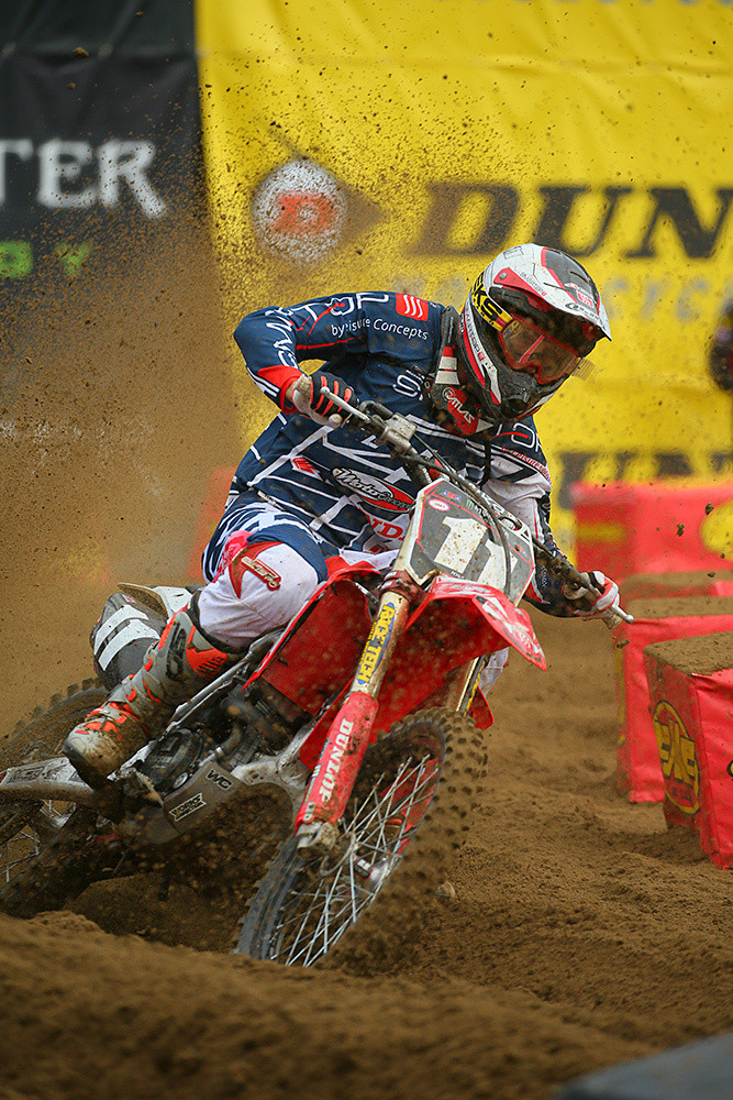Kyle Chisholm - Vital MX Pit Bits: Oakland - Motocross Pictures - Vital MX